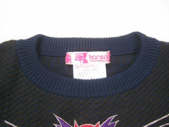 Kansai Yamamoto Walrus Sweater Vintage Retro 80s/… - image 8