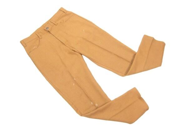 1960s Levis Big E Slim Fit Sta-Prest Pants Vintage