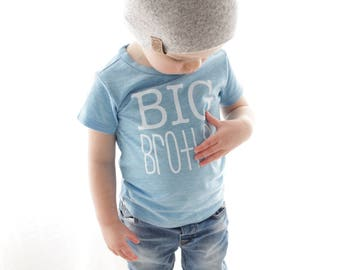 8912d8af NEW Seaside Blue big brother t-shirt | big bro shirt | brother shirt |  family photos | new baby | big brother gift | pregnancy announcement