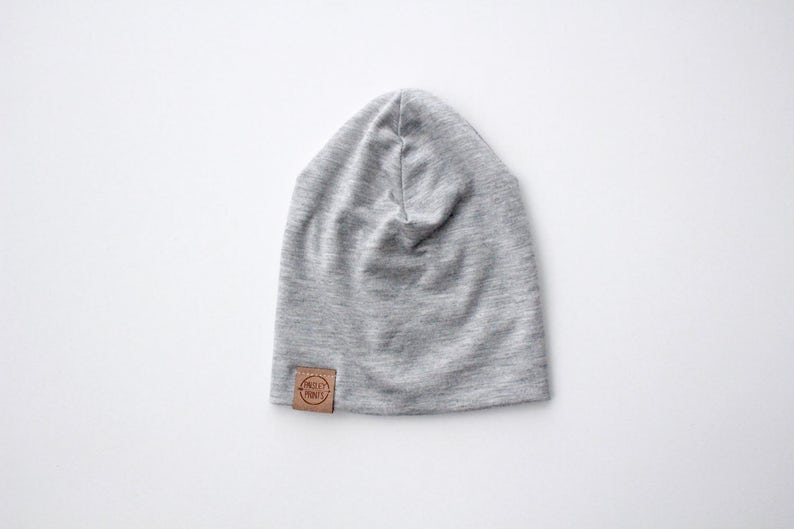 38078cea398 Light weight grey slouch beanie slouch beanie toddler