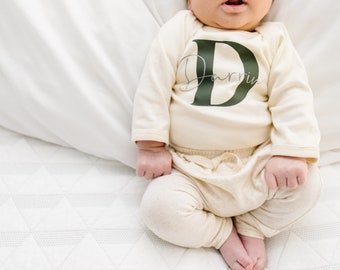 Newborn boy coming home outfit | baby boy newborn outfit | gender neutral coming home outfit | personalized coming home outfit |