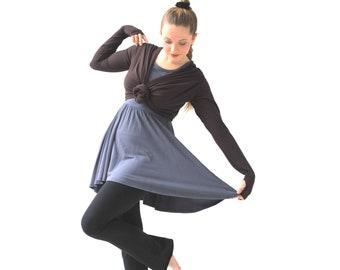 da5ae9f26cf Brown infinity Bolero shrug, Brown shrug, Brown shrug bolero, Shrugs and  boleros, Shrugs and wraps, Shrugs for dresses, Bolero jacket