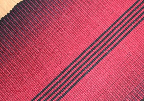 SALE Red Kitchen Rug Machine Washable Cotton Rag Rug 30% off