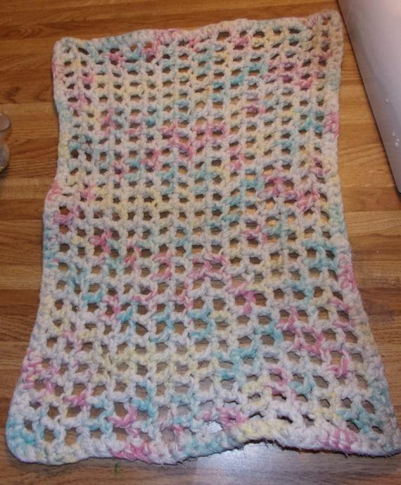 Collar Hand Crochet Wearable Art Secretarys Collar Dark Green acrylic yarn  FREE SHIPPING