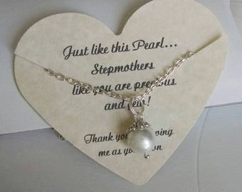 Step Mom Gift Mother Of The Bride Stepmother Wedding For In Law Comes With Card