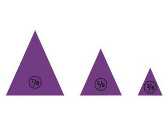NEW! NTaJ! Accessory Peg Pak Mix: Triangles (3)