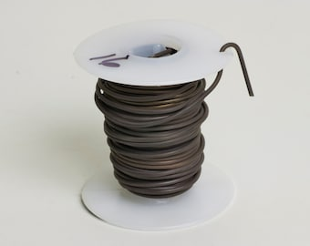 16-gauge Dark Annealed (Bend and Stay) Wire, 1 quarter-pound Spool (WIRE-16GS)