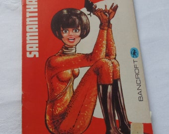 Vintage Samantha's Rave Doll Dressing Book Bancroft 1967