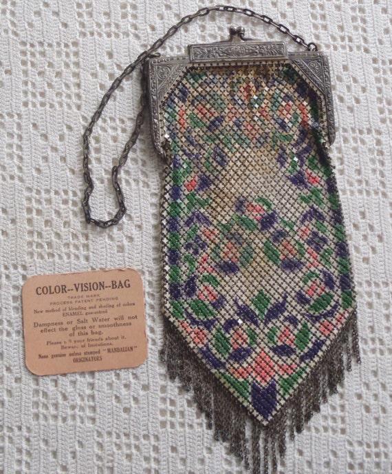 Vintage Mesh Purse Mandalian Mfg. Co.