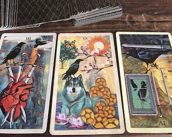 tarot card reading SAME DAY (3 card reading)