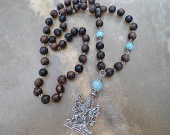 witchcraft wiccan handmade jewelry magic Kali Ma Goddess Necklace wicca pagan witch