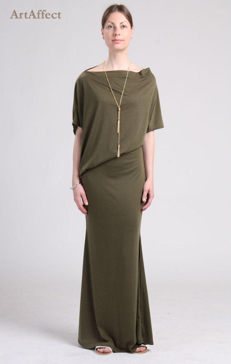 71619180d7c9 Off Shoulder Dress   Summer Maxi Dress   Asymmetrical Dress