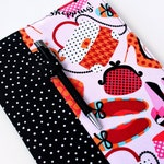 Fabric cover for composition notebooks with option to personalize with a name, teacher gift, office decor, fabric notebook cover - Shopping