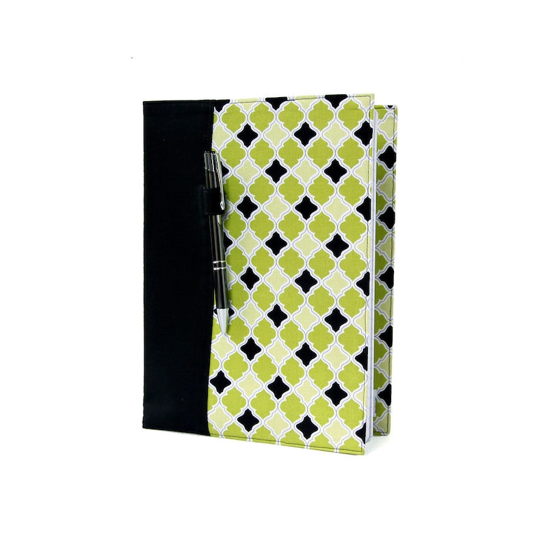 Composition notebook cover with option to personalize fabric image 0