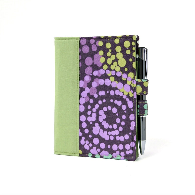 Circle Dots Little List Keeper Mini notepad clutch Day image 0