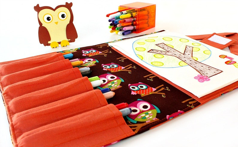 Crayon case with option to add name crayon wallet image 0