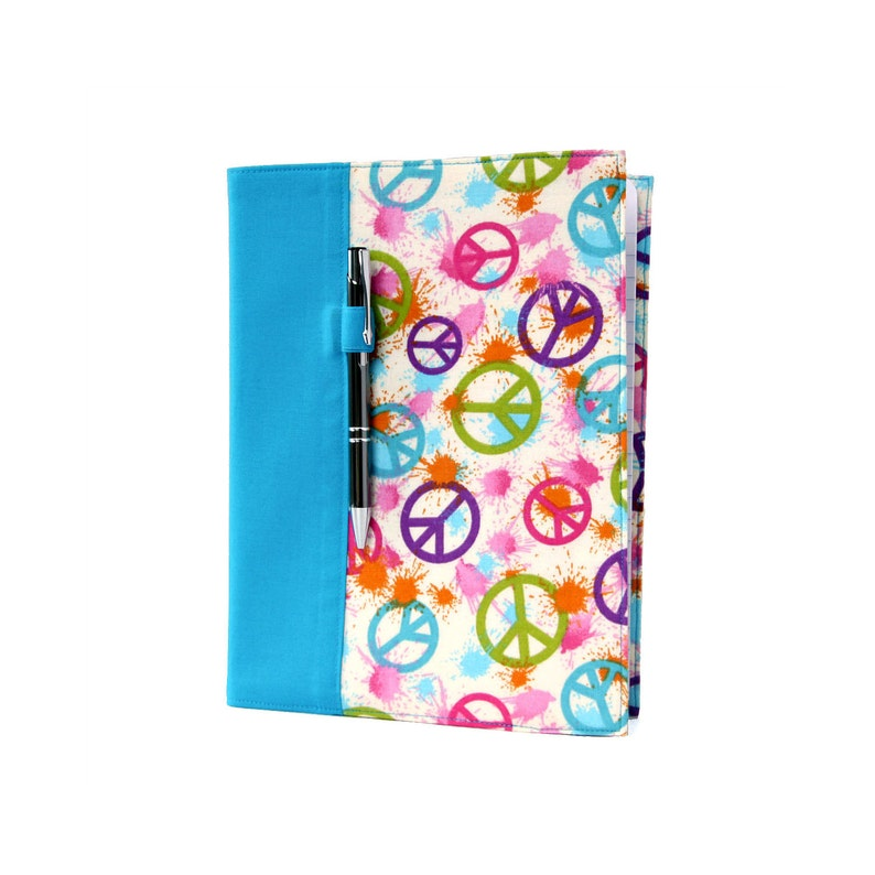 Notebook cover with option to personalize with a name image 0