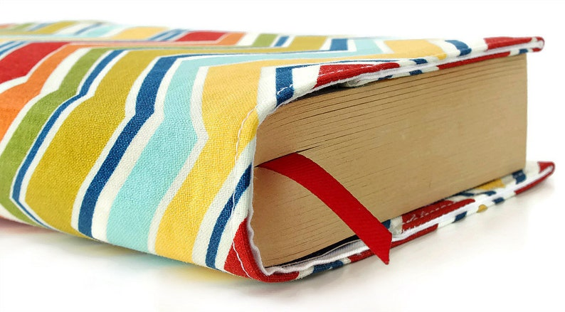 Paperback book cover Mass Market Reusable fabric book cover image 0