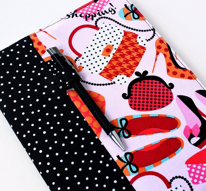 Fabric cover for composition notebooks with option to image 0