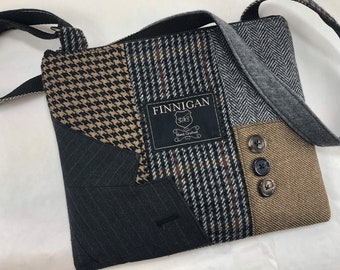 2fe261469adf Recycled Purse Crossbody Purse iPhone Purse Zipper Purse Wool handbag  Winter purse Clutch Bag Wool Eco Friendly Tote bag