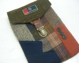 iPad Mini 2, Nook, kindle , tablet,E-Reader Case, Eco Friendly, Recycled Suit Coat