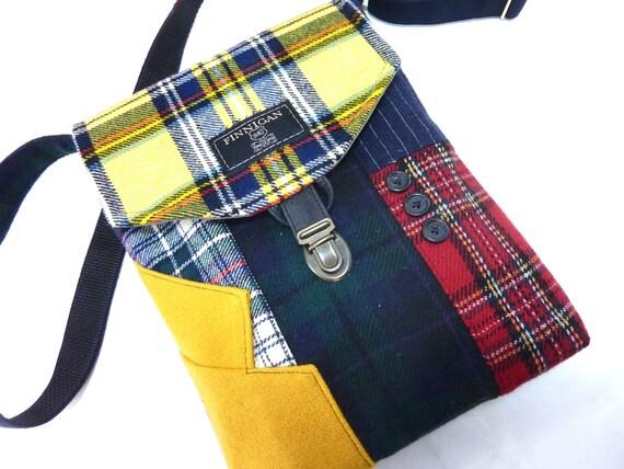 Recyclé sac à main bandoulière sac à main recyclé iPhone sac à main poche, recyclé sac à main laine bourse Womens sac à main, sac fourre-tout
