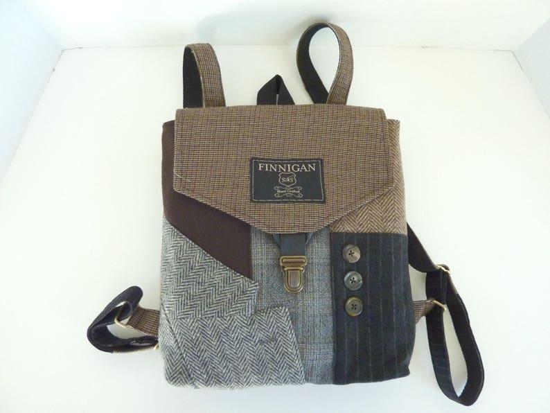 Travel Bag Softsided Bag Backpack Mens Backpack Recycled Mens Suit Coat Bag Womens backpack Recycled Backpack  bag