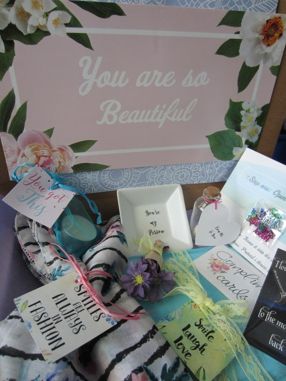 Birthday Care Package Gift Box Sister Best Friend