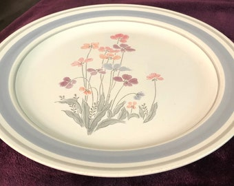 Vintage Newcor Stoneware Ramekins Set of 4 Floral Japan
