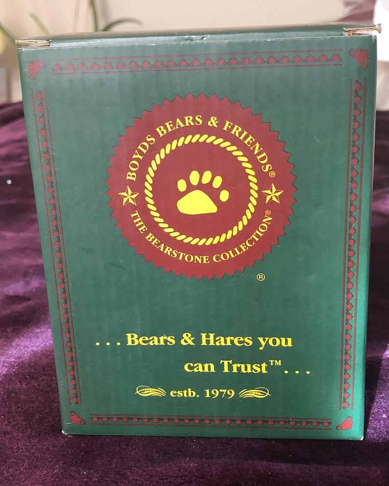 1st Edition 2000 Sgt O/'Beara wAli /& Friends...Everyday Hero Boyds Bears Policeman #227745