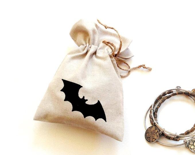 Linen Fabric Gift Bags