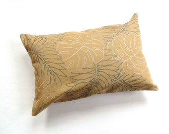 Embroidered Napoleonic Bees Bolster Pillow 2 Color-Options