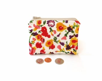 Zippered  Coin  Pouches