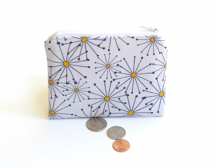 Large Zipper Coin Purses