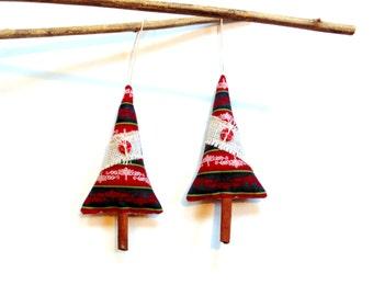 One Cinnamon Christmas tree holiday sachet ornament