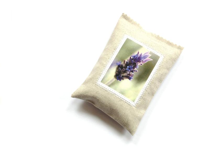 Lavender sachet bag drawer freshener scented pillow gift for her