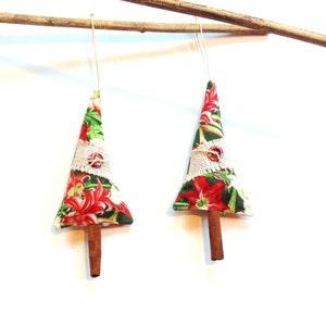 balsam fir pine sachet trees cinnamon trees scented ornaments tree trimming teacher gift