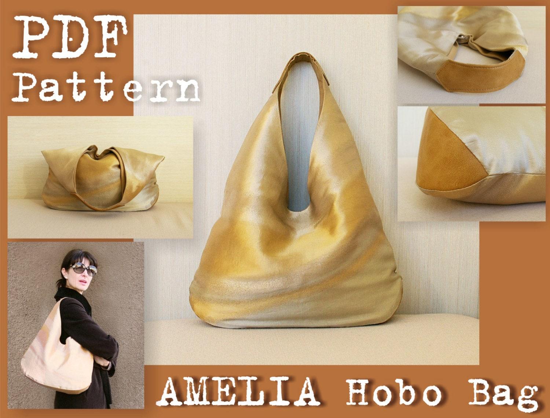 Leather Bag Pattern Pdf Magnificent Ideas