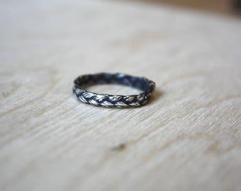 Natural Braid Ring