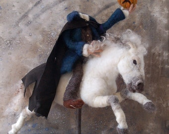 SALE -Headless Horseman and Ghost Horse