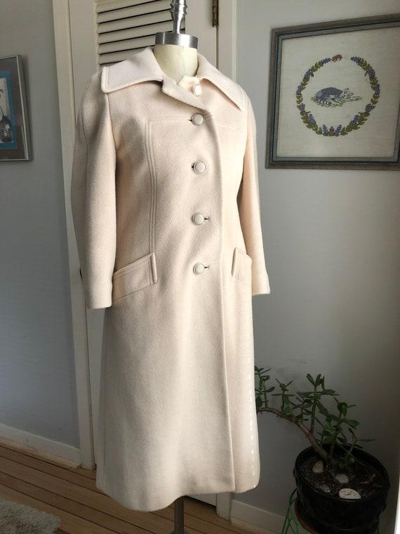 Cream Cashmere Coat