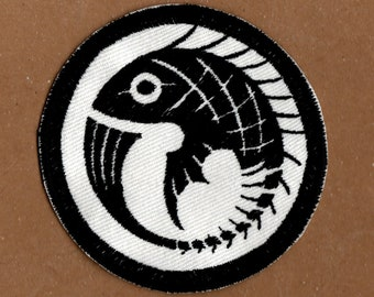 SCP Nine Tailed Fox Patch | Etsy