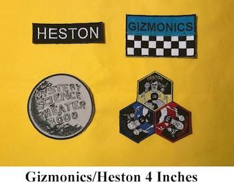 Jonah Heston Patch Set - MST3K