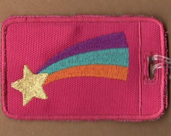 Mabel Embroidered Luggage Tag