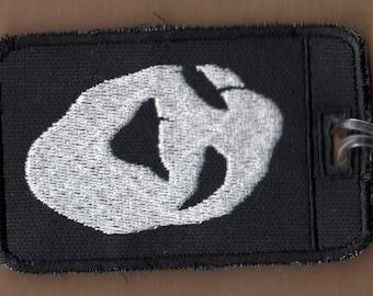 Uboa Embroidered Luggage Tag