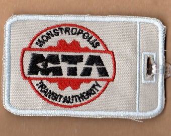 Monstropolis Transit Embroidered Luggage Tag