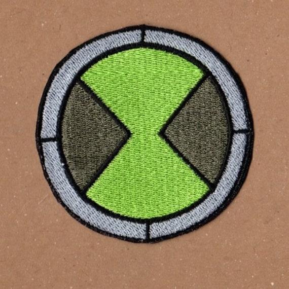Omnitrix Patch Ben 10 Etsy