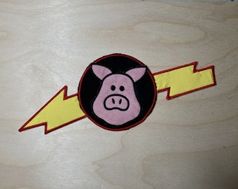 Pigs In Space Applique - The Muppet Show