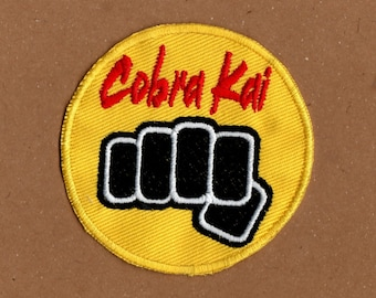 Cobra Kai Fist Patch