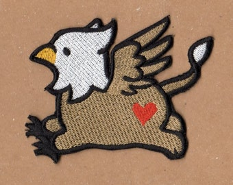 Too Cute Griffin Patch